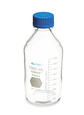 FRASCO DE LABORATORIO RECUBIERTO GL 45 5,000 ML